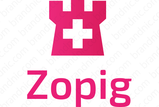 Zopig.com - Buy this brand name at Brandnic.com