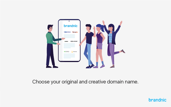 Brandnic helps you find the right domain name