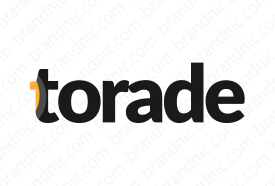 Torade.com - Buy this brand name at Brandnic.com