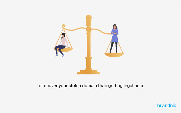How to recover stolen or hijacked brand domain names