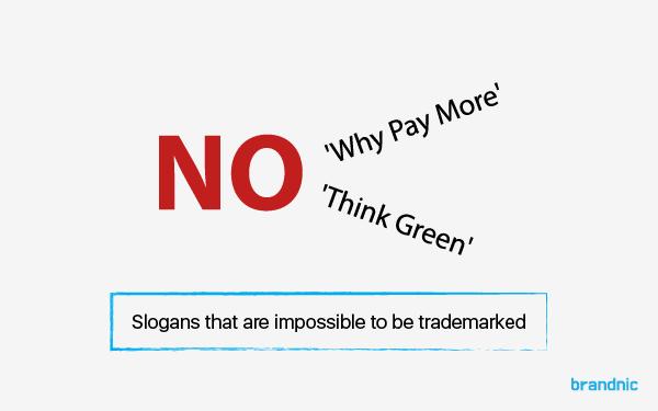 examples of slogans that are impossible to trademark