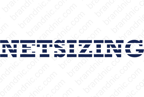 Netsizing.com- Buy this brand name at Brandnic.com