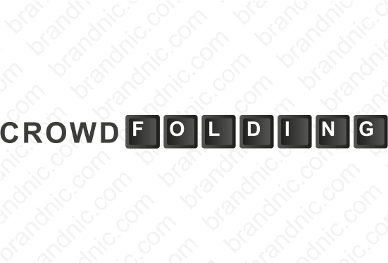 CrowdFolding.com- Buy this brand name at Brandnic.com