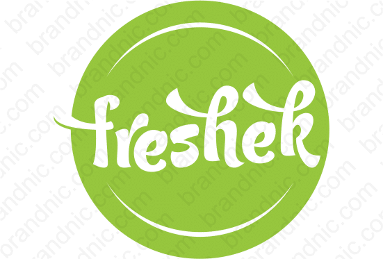 Freshek.com- Buy this brand name at Brandnic.com