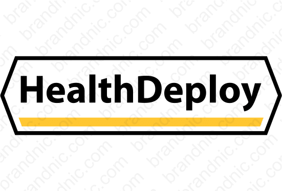 HealthDeploy.com- Buy this brand name at Brandnic.com