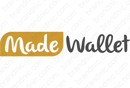 MadeWallet.com- Buy this brand name at Brandnic.com