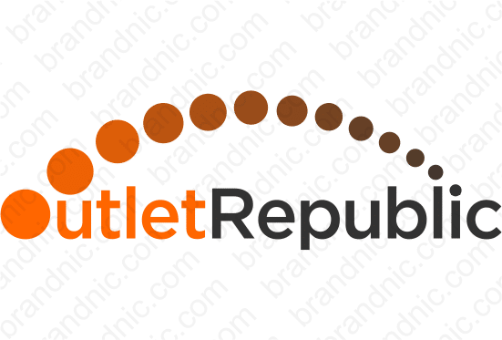 OutletRepublic.com- Buy this brand name at Brandnic.com