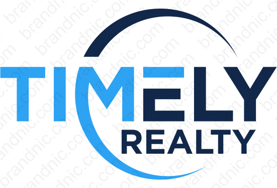 TimelyRealty.com- Buy this brand name at Brandnic.com