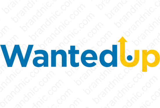 WantedUp.com- Buy this brand name at Brandnic.com
