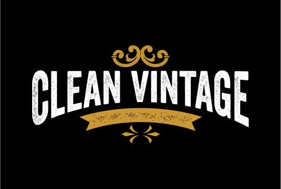 CleanVintage.com logo large