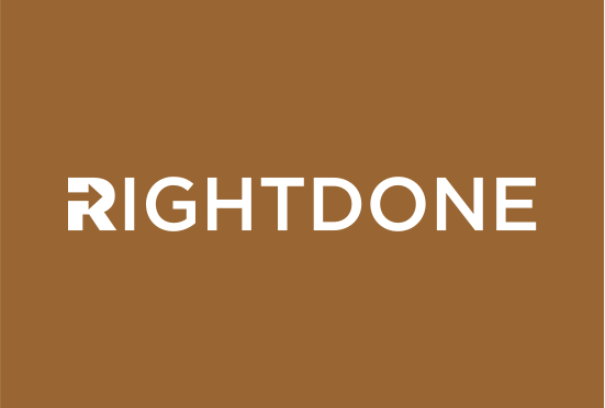 RightDone.com logo large