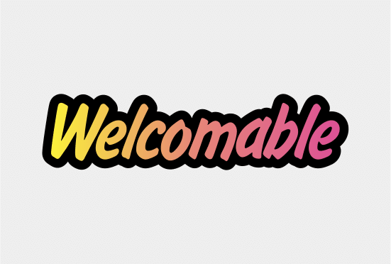 Welcomable.com large logo